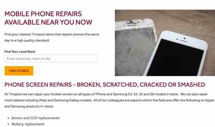 iPhone 6s repairs near me