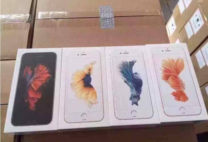iPhone 6s shipping preparation begins