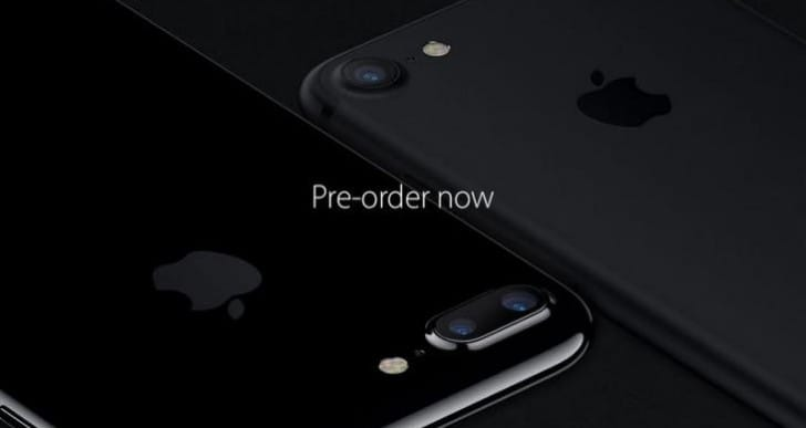 iPhone 7 pre-order September 9th, release date is 16th