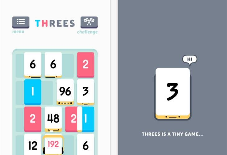iPhone Game of the Year Threes 1.2.3.4 update