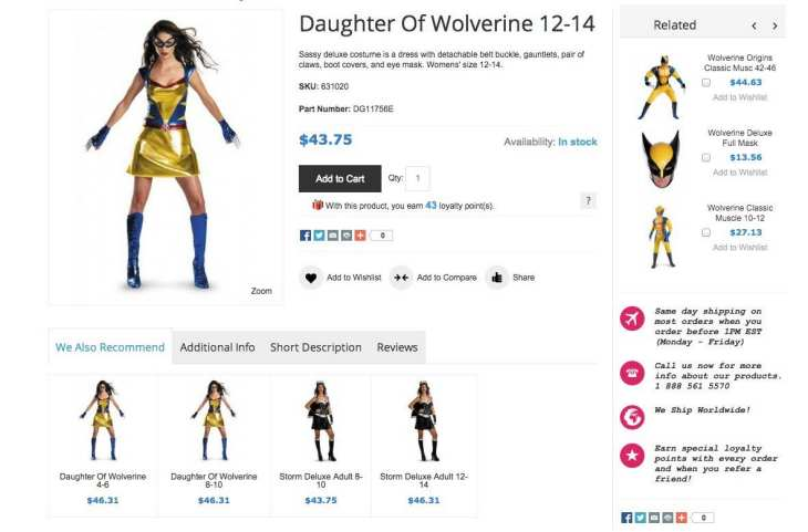 iPhone app to find Halloween costumes