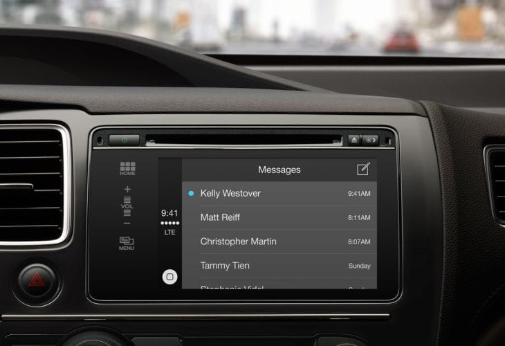 iPhone in-car entertainment systems could be problematic