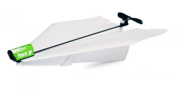 iPhone controlled paper airplane and boat at Toy Fair