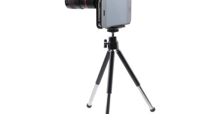 iPhone tripod collection for camera and videos