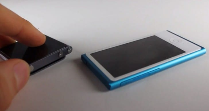 iPod Nano 16GB 7th Generation vs. 6G in review