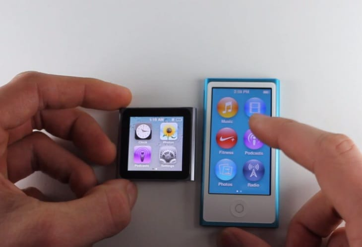 iPod Nano 16GB 7th Generation vs. 6G