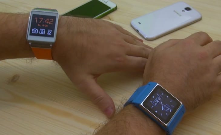 iPod Nano 6G vs. Galaxy Gear