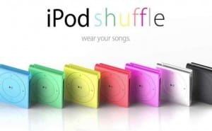 iPod shuffle 5th generation hopes over constrained stock