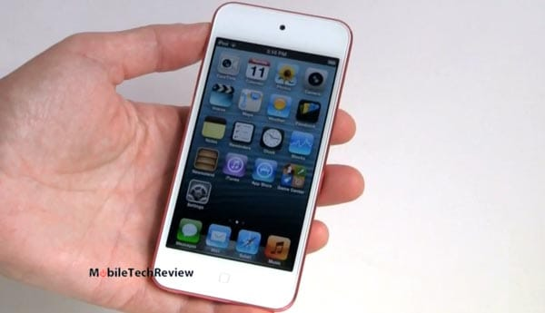 iPod touch 5G extreme visual review