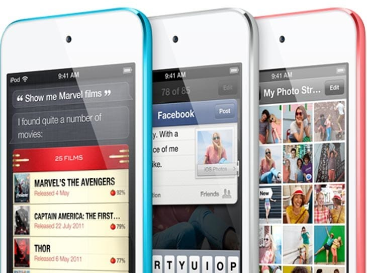 iPod touch 6G features selected by you