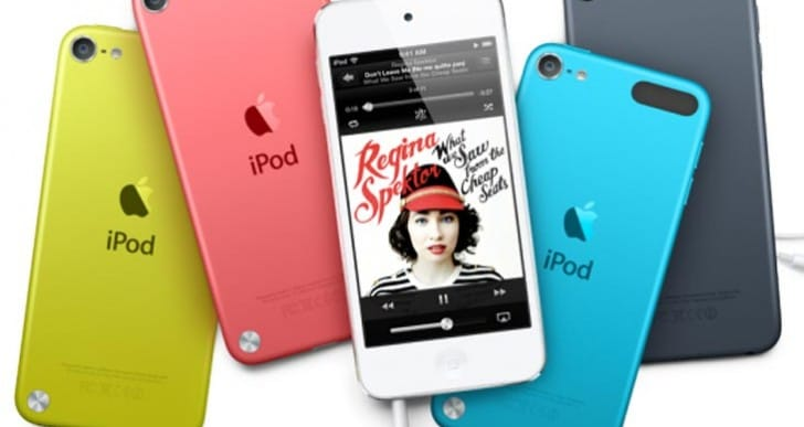iPod touch 6th generation in multiple models