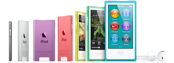 iPod touch vs. iPod nano