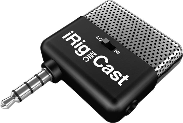 iRig Mic Cast for Android and iPhone