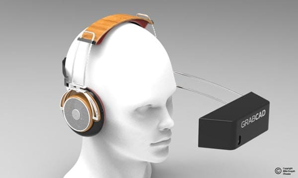 iTheater for iPhone 5: hands-free holder with speakers
