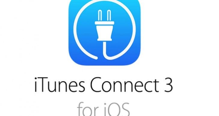 iTunes Connect 3 app update for iOS 7