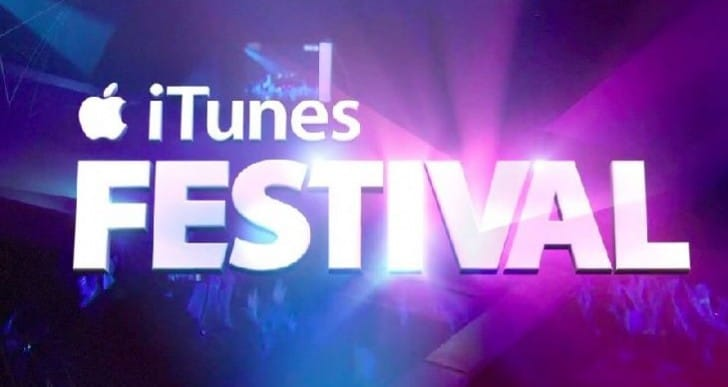 Apple moves 2014 iTunes Festival to US, live streaming