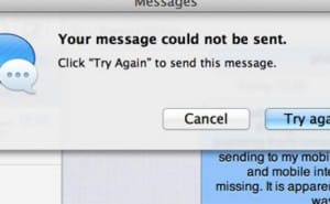 iMessage not working with Mac sync