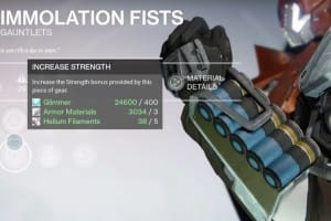 Destiny Immolation Fists review for Hammer of Sol