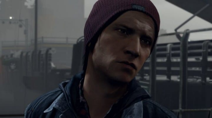 InFamous Second Son graphics from animation