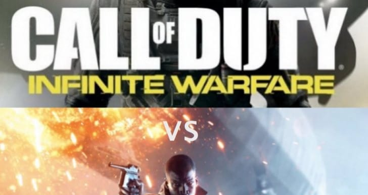 Battlefield 1 Vs Infinite Warfare after YouTube shock