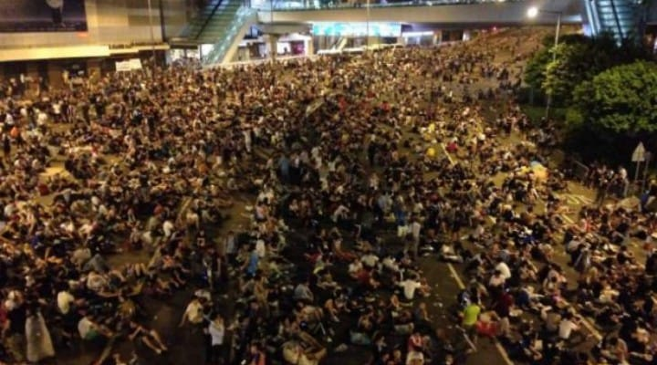 Instagram down in China due to HK's Occupy Central