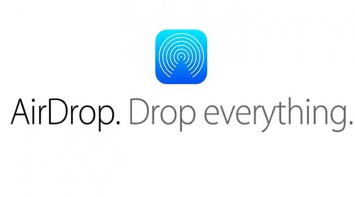 iOS 7 Airdrop to Mac not in Mavericks GM