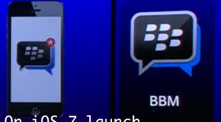 BBM for iPhone on iOS 7 release date
