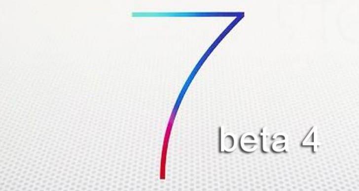 iOS 7 beta 4 and sooner GM release
