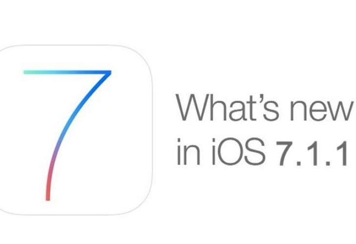iOS 7.1.1 update to go live soon