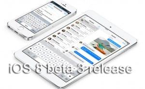 iOS 8 beta 3 wishful release today