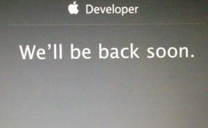 iOS 8 beta 1 live, dev center down
