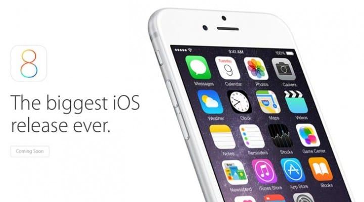 iOS 8 public release date in 2 days