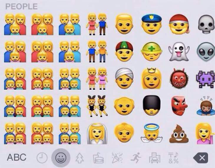 iOS 8.3 Emoji with 'Simpsons' complaints
