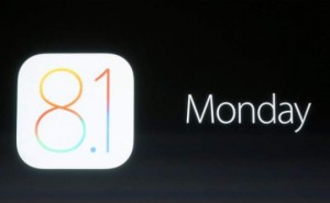 iOS 8.1 update release time today in UK, USA