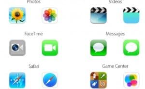 iOS 7 Vs iOS 6 icons, not everyone pleased