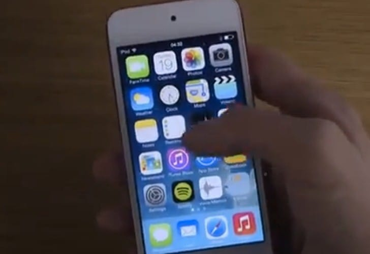 iOS 7.0.4 review on iPod Touch 5 in 5 minutes