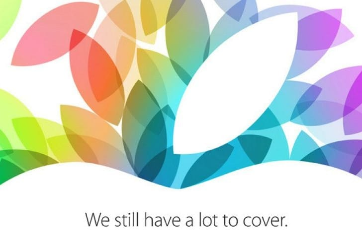 Apple October 2013 event with live stream uncertainty