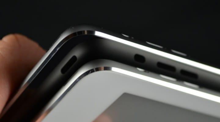 iPad 5 vs iPad Mini 2 Space Grey with silver trim