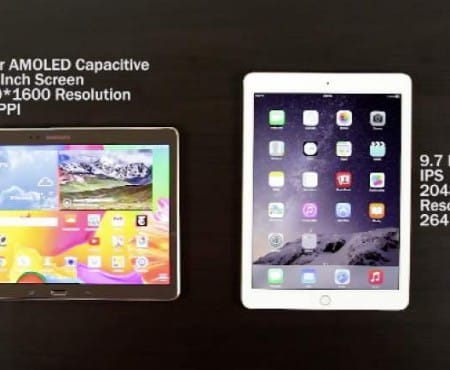 iPad Air 2 Vs Samsung Galaxy Tab S 10.5 review for superiority
