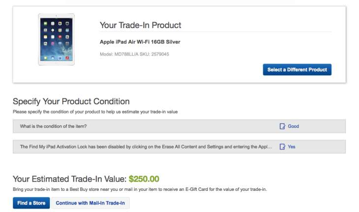 Trade in the lowest end Apple iPad, and you are already looking at $ for a 4th generation 16GB model and $ for the 32GB edition. Best Buy says it will recycle all of the devices it receives during the trade-in period.