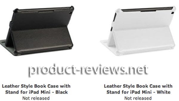 iPad mini cases ready preceding announcement