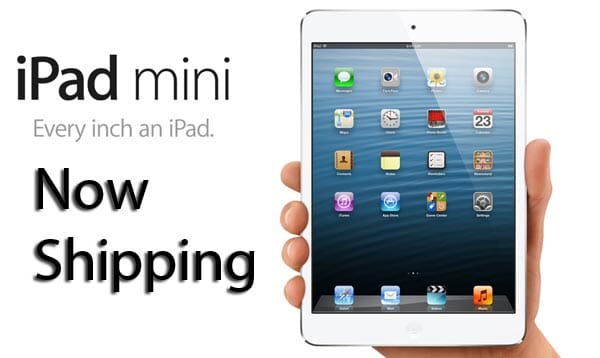 Apple iPad mini now shipping, review soon