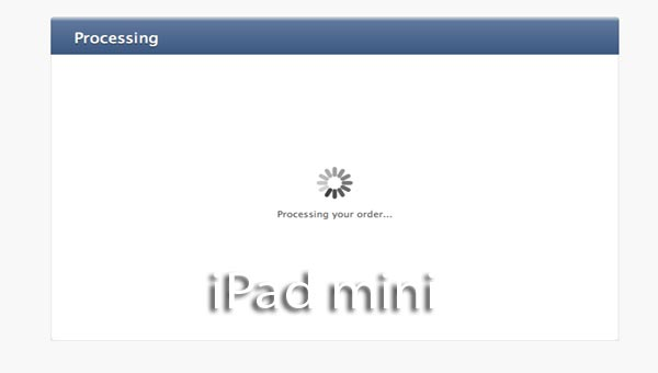 iPad mini UK pre-order painless without problems