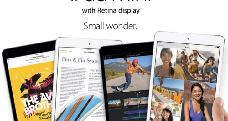 iPad Mini Retina release time rumor with stock issues