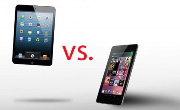 Apple iPad mini and Google Nexus 7 review