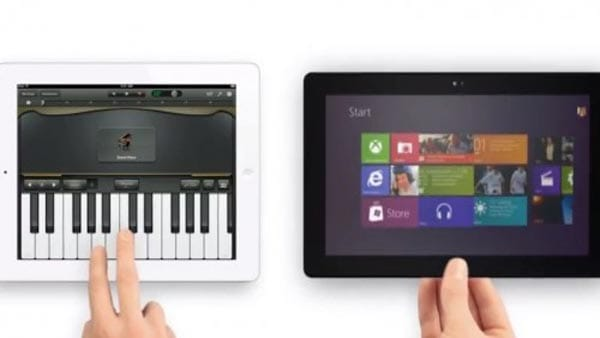 Microsoft Surface vs. Apple iPad mini, in a nutshell