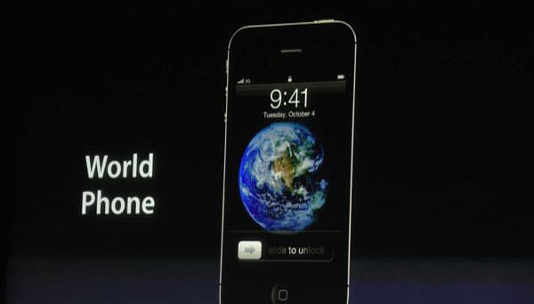 iPhone 5 too big to share event