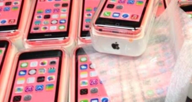 iPhone 5C in the flesh ahead of 5S event