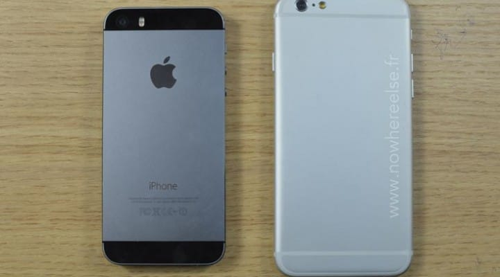 iPhone 6 vs. HTC One M8 antenna band placement