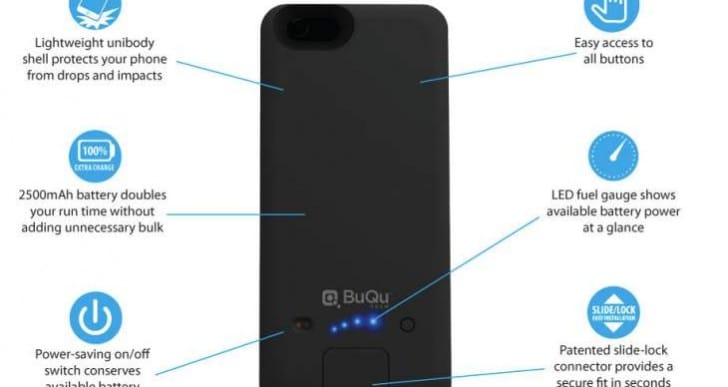 Best iPhone 6 case with double battery life